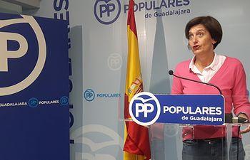 Ana González, sendora del PP por Guadalajara.