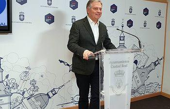 Francisco Cañizares, portavoz del Grupo Municipal Popular.