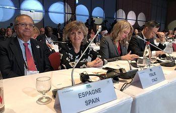 María Luisa Carcedo, ministra de Sanidad, Consumo y Bienestar Social en funciones.