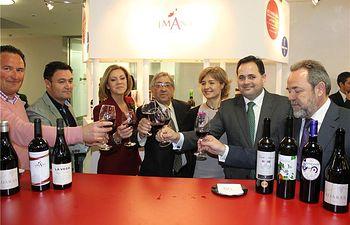 El presidente de la Diputación, Francisco Núñez, asiste a la inauguración en Toledo de la II Cumbre Internacional del Vino