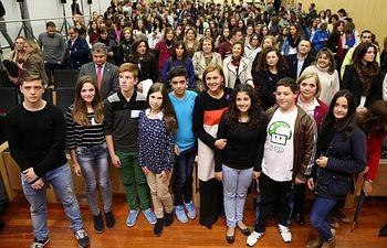 Cospedal clausura Jornada de Prevención Violencia de Genero en la Adolescencia 1. Foto: JCCM.