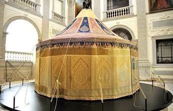 Imagen de la Capilla Imperial situada en una de las dependencias del Museo del Ejército.