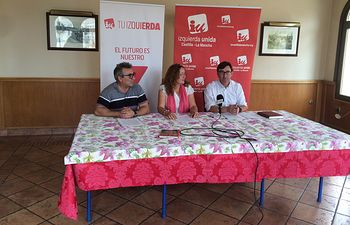 Juan Blanco, Elena Carrasco y Daniel Martínez.