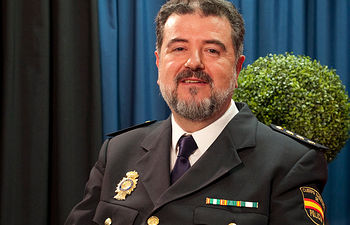 José Francisco Roldán, Comisario Jefe de la Policía Nacional en la provincia de Albacete.