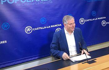 Franciso Cañizares, en rueda de prensa.