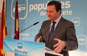 José Luis Teruel en rueda de prensa.