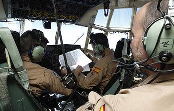Avión español destinado a Dakar (Foto Ministerio de Defensa)