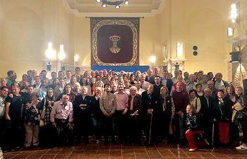 Foto de familia tras la presentación de la candidatura del PP en Cifuentes.