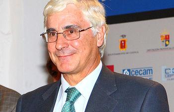 El presidente de Castilla-La Mancha, José María Barreda, en una imagen de archivo, durante la entrega de los Premios Castilla-La Mancha de Diseño el pasado 30 de septiembre en Cuenca.