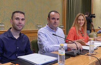 Tony Calvo, Antonio Carrasco y Mª Jesús Amores