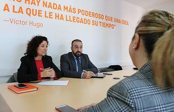 Ciudadanos C-LM ha mantenido una reunión con AEFCLM (Asociación de la Empresas Familiares de Castilla-La Mancha)