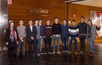 EL IES Los Olmos de Albacete recibe el premio como ganador de Desafío STEM por su proyecto Agrotech