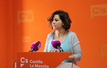 Orlena De Miguel, portavoz de Ciudadanos CLM.