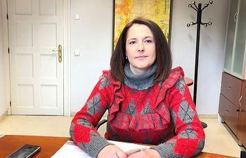 Saray Portillo, portavoz del equipo de Gobierno.