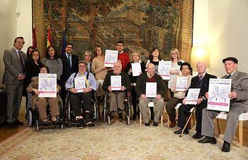 Los mayores de Castilla-La Mancha han disfrutado de 467 estancias gratuitas en residencias estas Navidades. Foto: JCCM.