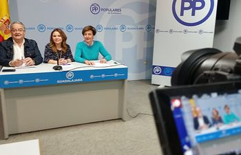 Senadores del PP de Guadalajara.