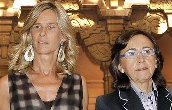 Cristina Garmendia y Rosa Aguilar. Foto: EFE