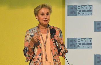 Carmen Quintanilla en la Conferencia sobre instituciones europeas