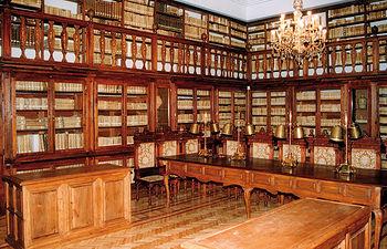 Imagen de la Sala Borbón Lorenzana en la Biblioteca de Castilla-La Mancha.