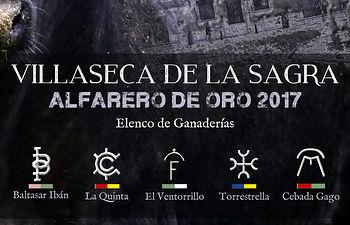 Ganaderias XVIII ALFARERO DE ORO 2017 Villaseca de la Sagra