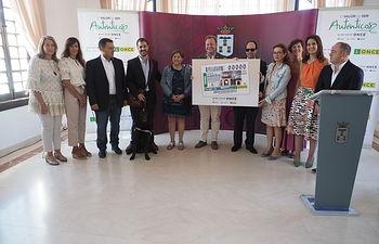 Presentación de un Cupón de la ONCE en el Recinto Ferial de Albacete. Foto: La Cerca - Manuel Lozano Garcia