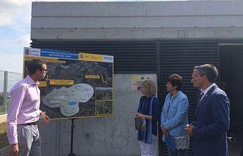 Visita Autovía del Agua, Cantabria. Foto: Ministerio de Agricultura, Alimentación y Medio Ambiente