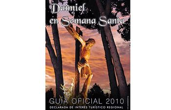 En la imagen, el cartel de la Semana Santa de Daimiel (Ciudad Real).