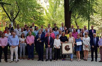 El Colegio de Mediadores de Seguros de Albacete ceñebra el día de su Patrona con diversas actividades colegiales y una comida de hermandad