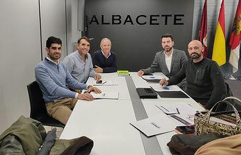 Reunion ADEPRO Ayuntamiento.