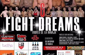 """6º edición evento de kick boxing Fight Dreams. """" Trofeo de La Navaja """""""