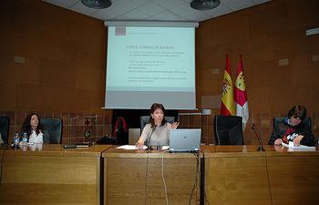 Representantes de la ORI en la reunión informativa