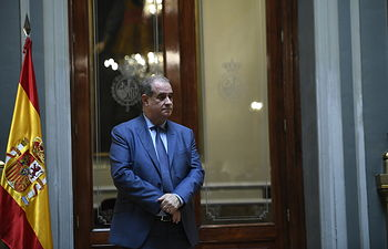 Francisco Pardo Piqueras, director general de la Policía Nacional. Foto: Europa Press 2019