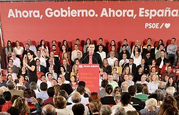 Pedro Sánchez en La Coruña. Foto: Inma Mesa Cabello