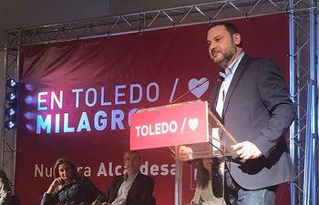 José Luis Ábalos en Toledo.