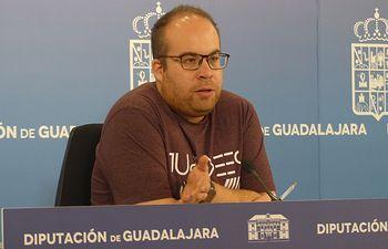 Rubén García, vicepresidente primero de la Diputación.