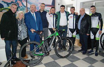 El Gobierno regional respaldará proyectos empresariales como Berria Bike que generen actividad y creación de empleo. Foto: JCCM.