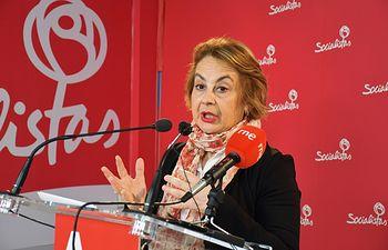 Manuela Casado, diputada regional del PSOE por la provincia de Ciudad Real.