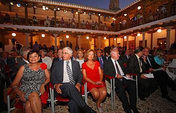 El presidente de Castilla-La Mancha, José María Barreda, inauguró hoy el Patio de Comedias de Torralba de Calatrava (Ciudad Real).
