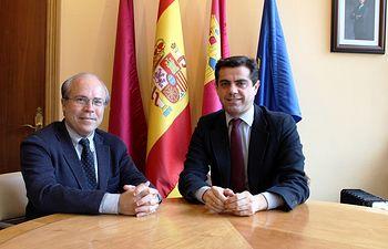 Reunión con Javier López Galiacho.