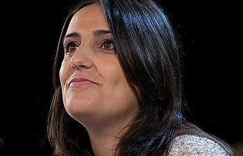 La presidenta de Nuevas Generaciones, Beatriz Jurado