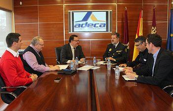 ADECA continúa con su ronda de reuniones para mejorar la seguridad del Parque Empresarial de Campollano
