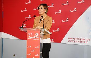 PSOE-CLM Blanca Fernández 02-04-18