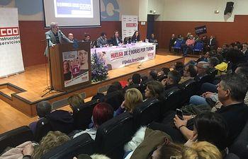 Unai Sordo, Asamblea 8M