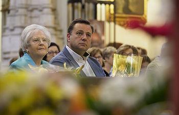 Misa en honor a Santa Rita, patrona de los funcionarios, en Albacete