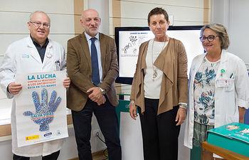 Presentación del Día Mundial de Higiene de Manos en el Hospital Nacional de Parapléjicos (Foto: Carlos Monroy)