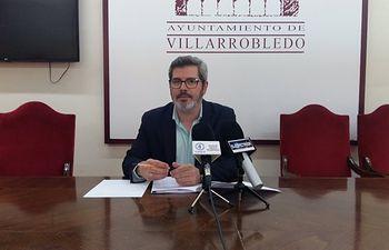 Juan Luis Íñiguez, responsable del área económica del Ayuntamiento de Villarrobledo.