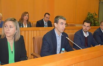 Luis Enrique Hidalgo, concejal de Hacienda y de Contrataciones y Seguimiento de Concesiones.
