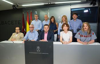 Concejales del Equipo de Gobierno del Ayuntamiento de Albacete
