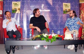 Santiago Segura y Javier Gutiérrez en el Patio De Cultura