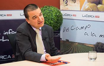 Francisco Martínez Arroyo, consejero de Agricultura, Medio Ambiente y Desarrollo Rural de la JCCM.